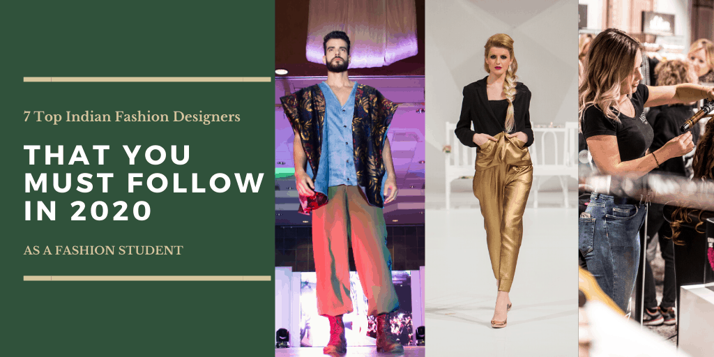 Top Fashion Designers In India 2020 Just Designs Institute